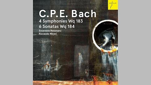 CD - Carl Philipp Emanuel Bach: Symphonien und Bläsersonaten | CDs ...
