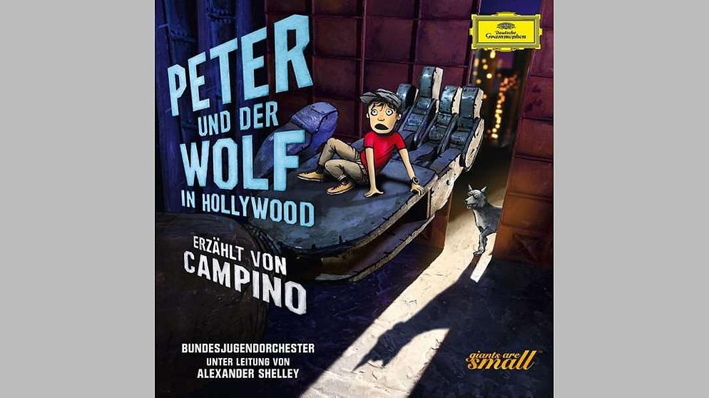 cd campino erz hlt peter und der wolf in hollywood cds br klassik bayerischer rundfunk. Black Bedroom Furniture Sets. Home Design Ideas