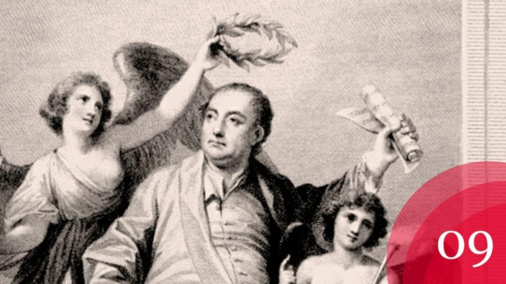 georg friedrich hndel hrbiografie apotheosis of handel 1787 bildquelle stiftung - Georg Friedrich Handel Lebenslauf