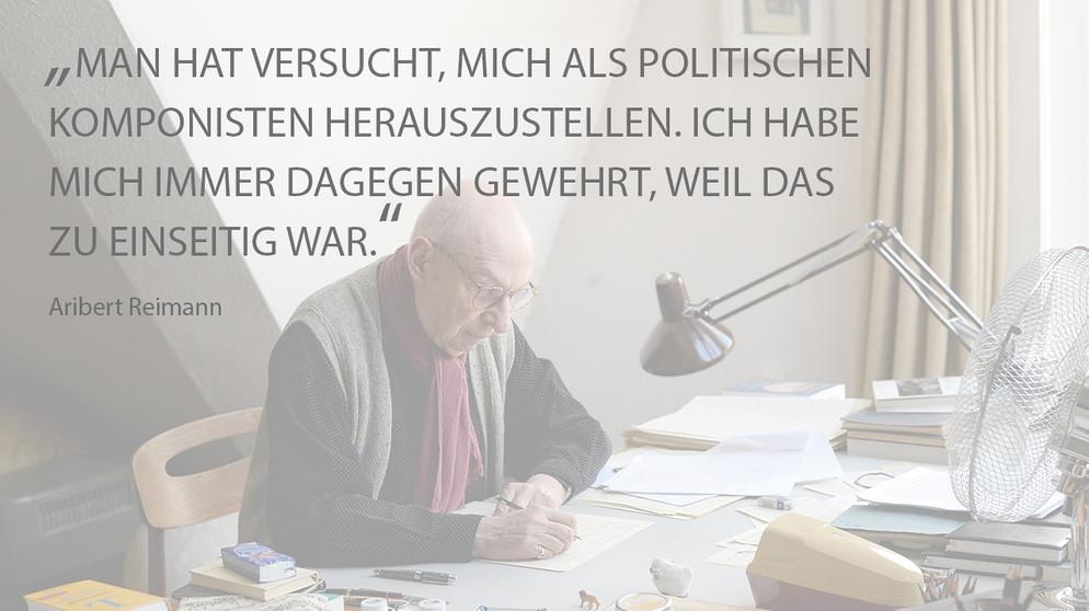 Aribert Reimann 80 Geburtstag Zitate Eines Komponisten News Br