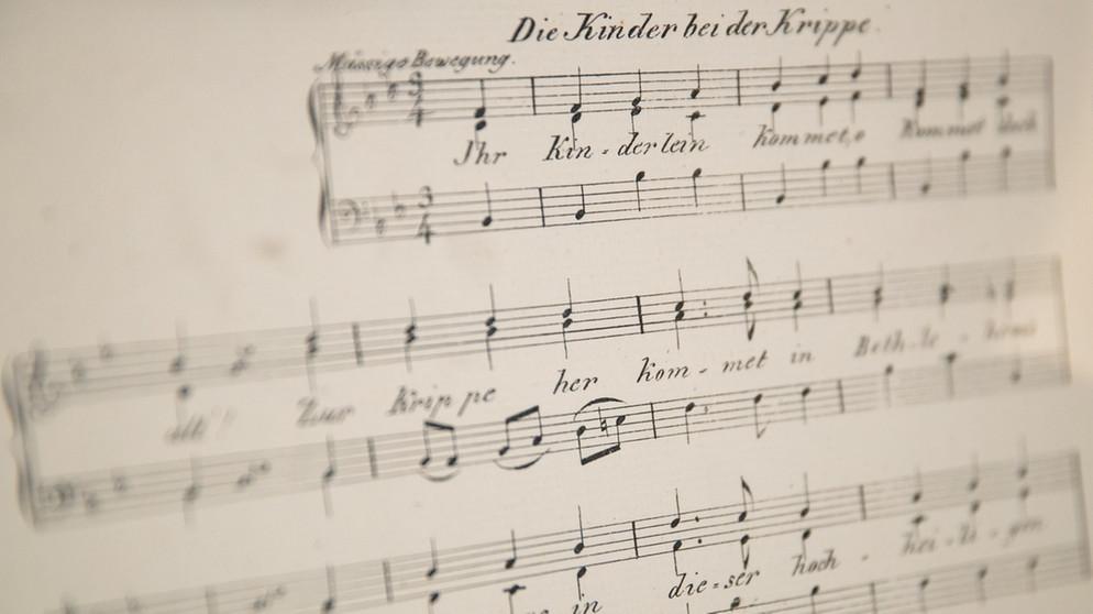 Weihnachtslieder Alphabetisch.Ausstellung Christoph Von Schmid 250 Jubiläum Des Dichters Von