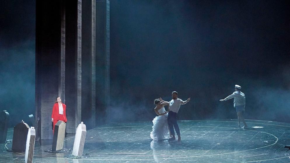 "Szene aus ""Die Weiden"" an der Wiener Staatsoper | Bildquelle: Wiener Staatsoper / Michael Pöhn"
