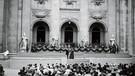 Jedermann 1920 in der Regie von Max Reinhardt | Bild:  © Archiv der Salzburger Festspiele/Foto Ellinger