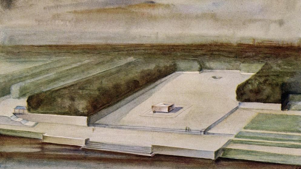 Das von den Nazis geplante Wagner-Monument in Leipzig