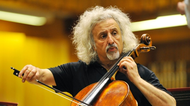 Der lettische Cellist Mischa Maisky | Bildquelle: picture-alliance/dpa