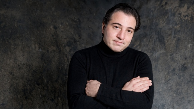 Fazil Say (3. Februar 2010 in Essen) | Bildquelle: picture-alliance/dpa