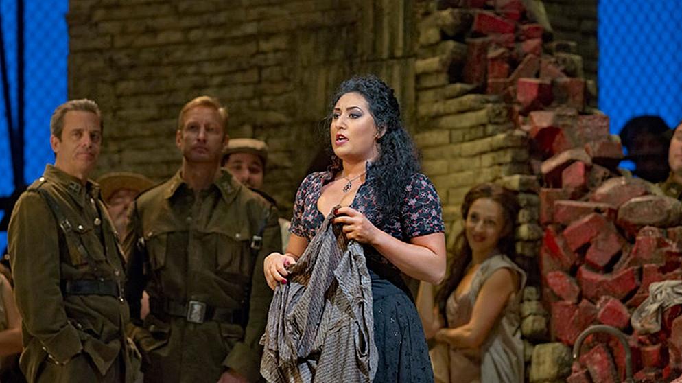 Anita Rachvelishvili als Carmen | Bildquelle: © Ken Howard / Metropolitan Opera