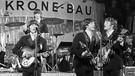 Die Beatles treten am 24.06.1966 im Münchner Circus Krone-Bau vor deutschem Publikum auf. | Bild: picture-alliance/dpa