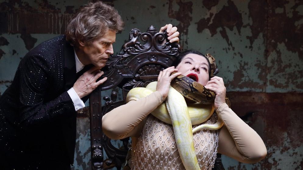 """Szene aus """"7 Deaths of Maria Callas"""" an der Bayerischen Staatsoper   Bildquelle: Wilfried Hösl/Bayerische Staatsoper"""