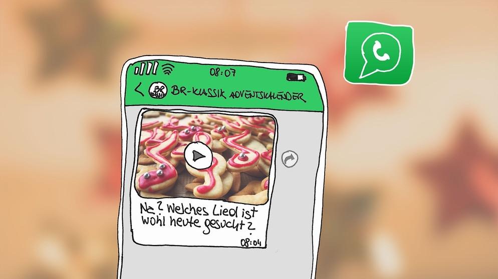 Anmeldung zum BR-KLASSIK Adventskalender auf WhatsApp: Täglich ein ...