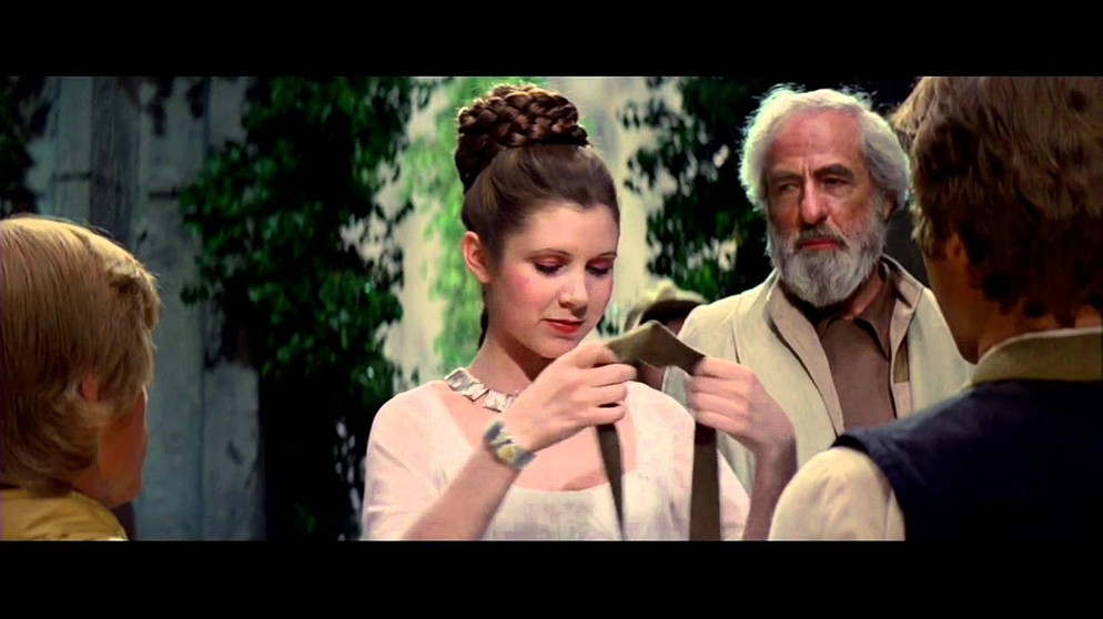Star Wars IV: A new hope - Final Scene (The Throne Room) and End Title | Bildquelle: Benguitar90 (via YouTube)