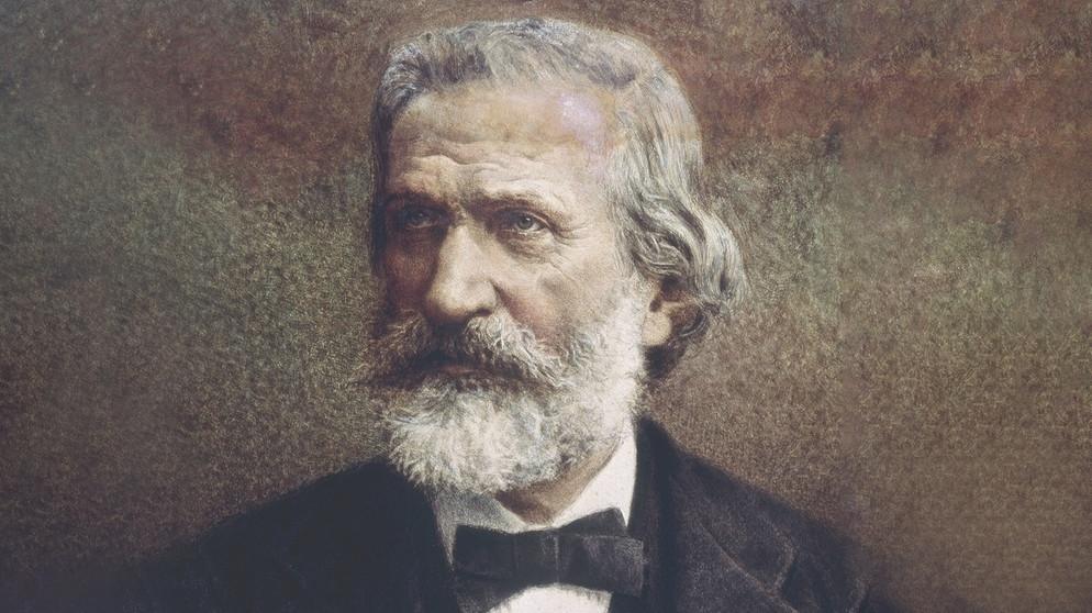 Komponist Guiseppe Verdi | Bildquelle: dpa/akg-images