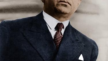 Kurt Tucholsky. Foto von 1931 | Bild: picture alliance / akg-images