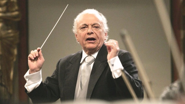 Dirigent Lorin Maazel | Bildquelle: picture alliance / AP Photo