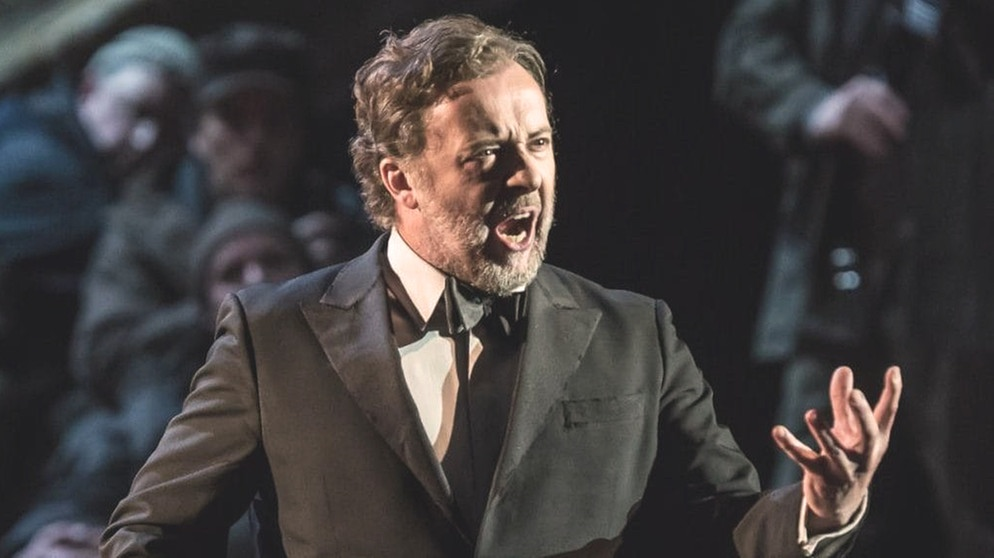 "Christian Gerhaher im Mai 2016 als Wolfram von Eschenbach in Richard Wagners ""Tannhäuser"" am Royal Opera House, Covent Garden, London 