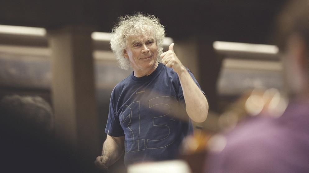 Sir Simon Rattle, ernannt zum neuen BRSO-Chefdirigenten