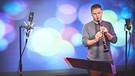 Klarinettist Matthias Schorn und sein Ensemble Faltenradio zu Gast in der TV Sendung SWEET SPOT | Bild: © Alescha T. Birkenholz